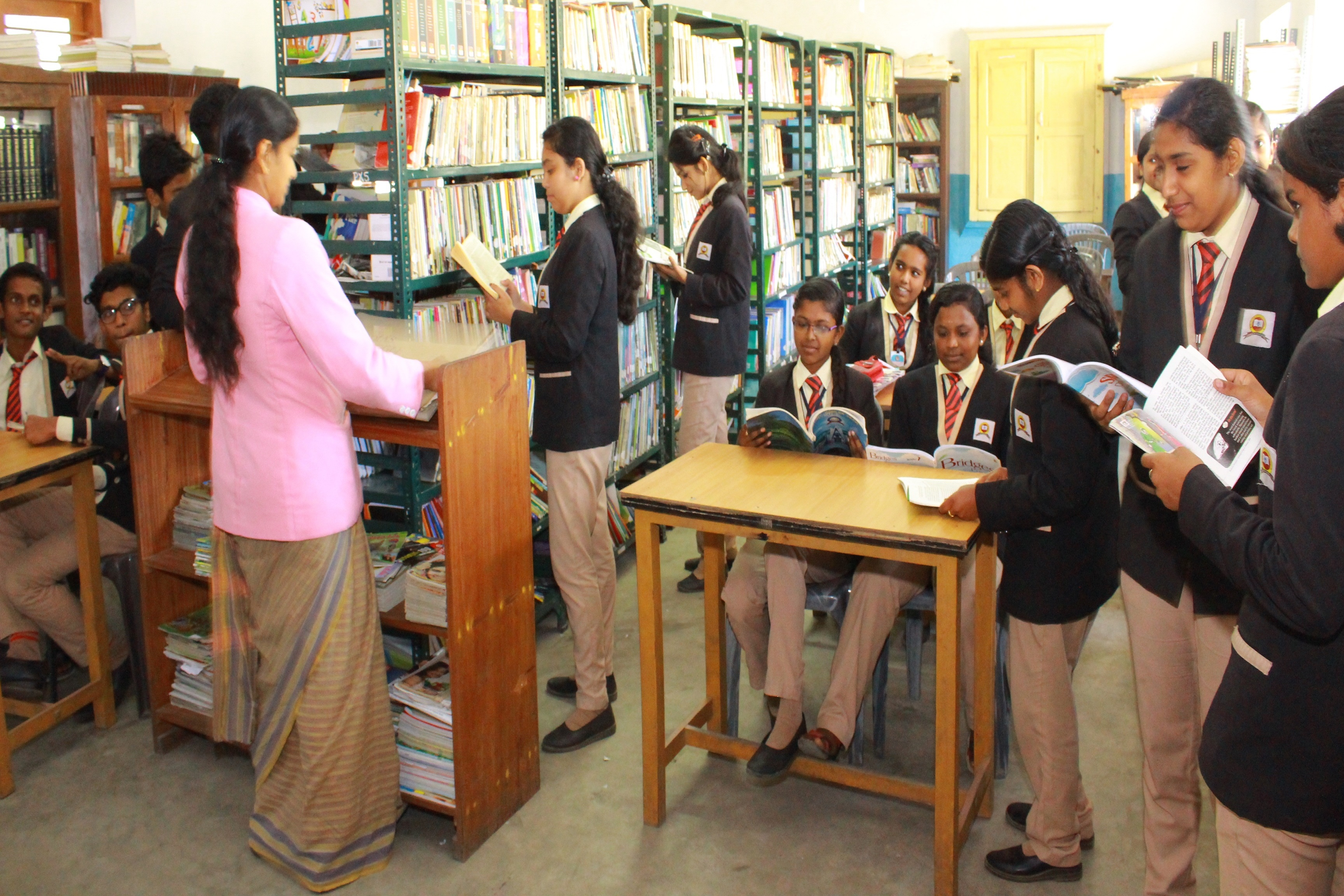 Reading room and Library